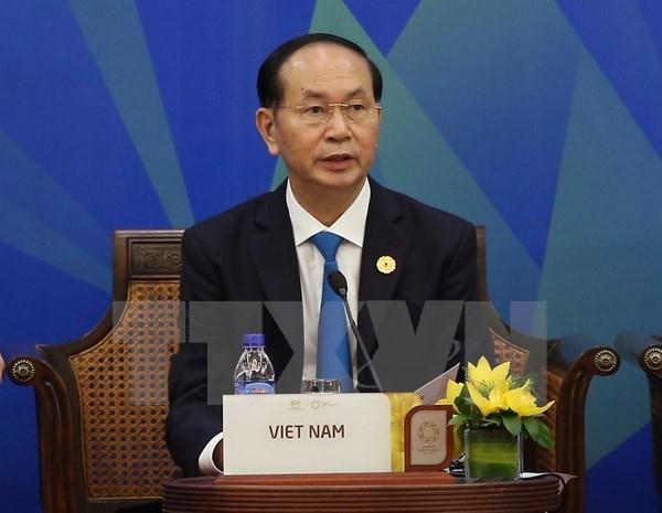 Presidente de Vietnam interviene en el Dialogo APEC- ABAC hinh anh 1