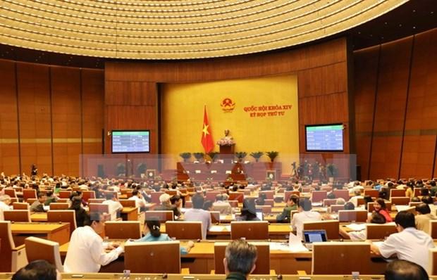 Asamblea Nacional de Vietnam aprueba plan de desarrollo socioeconomico para 2018 hinh anh 1