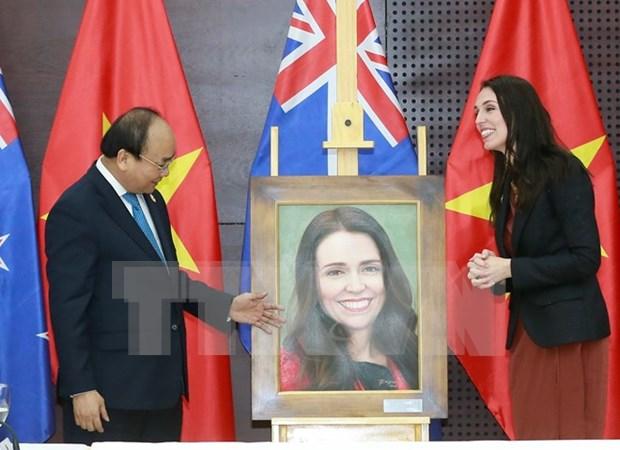 APEC 2017: premieres vietnamita y neozelandesa abogan por intensificar relaciones bilaterales hinh anh 1