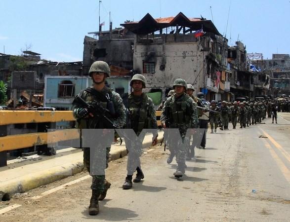 Ejercito filipino sostuvo enfrentamientos con grupo insurgente Abu Sayyaf hinh anh 1