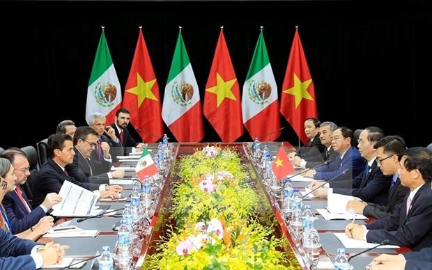 Mexico concede gran importancia a la asociacion integral con Vietnam hinh anh 1
