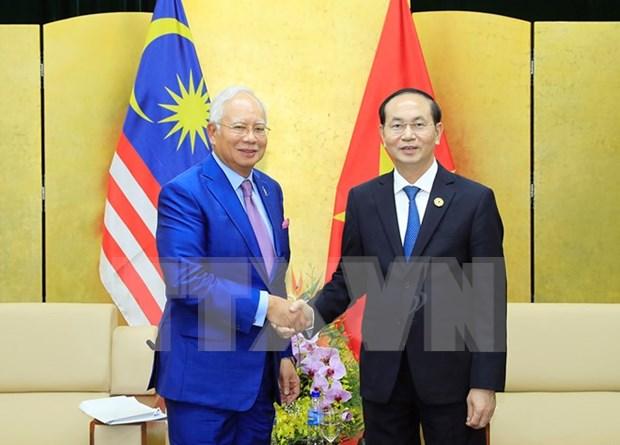 APEC 2017: Vietnam profundiza relacion con Malasia y Myanmar hinh anh 1