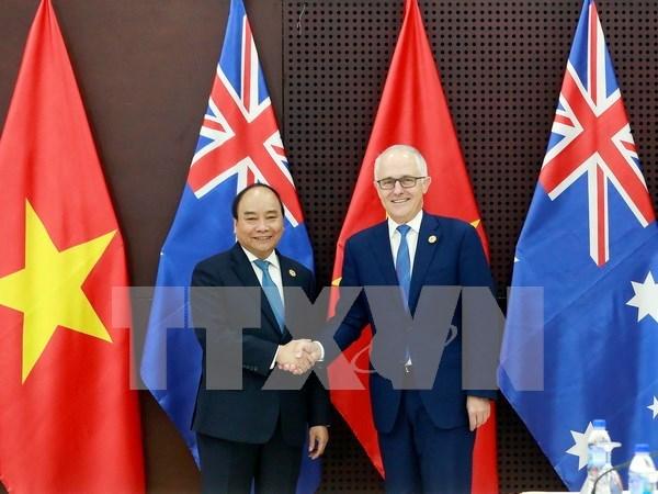 Vietnam y Australia elevaran nexos bilaterales a nivel de asociacion estrategica hinh anh 1