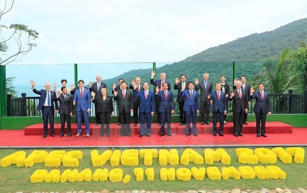 Inauguran en Vietnam Reunion de Lideres Economicos del APEC 2017 hinh anh 1