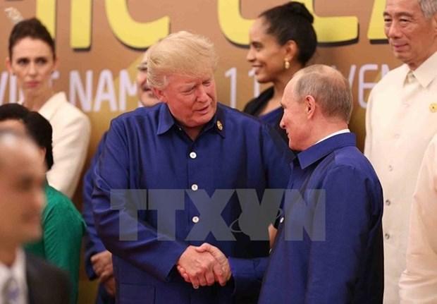 Descartan encuentro formal entre Trump y Putin en Vietnam hinh anh 1
