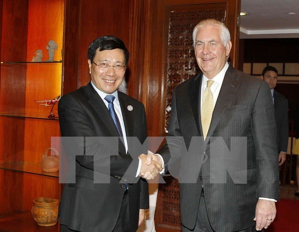 Vietnam y Estados Unidos conceden importancia a la asociacion integral bilateral hinh anh 1