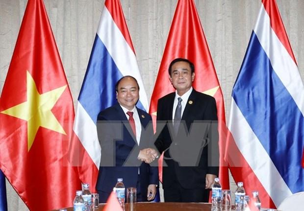 APEC 2017: Vietnam profundiza asociacion estrategica con Tailandia hinh anh 1