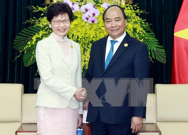 Vietnam y Hong Kong (de China) se comprometen impulsar cooperacion economica hinh anh 1