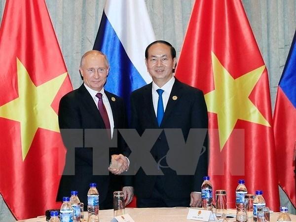 Vietnam y Rusia emiten Declaracion conjunta sobre seguridad de informacion internacional hinh anh 1