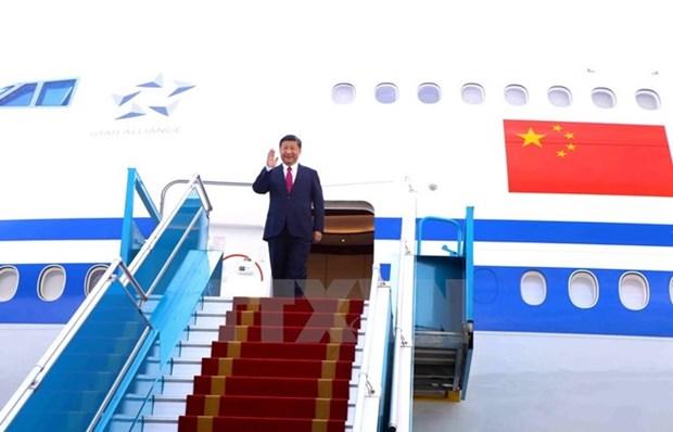 Relacion Vietnam – China alcanza nuevo nivel en APEC 2017, destaca periodico chino hinh anh 1