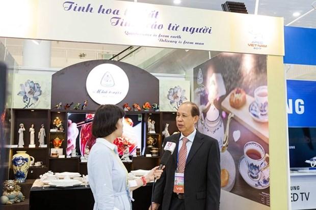 Minh Long, orgullo del arte ceramico de Vietnam, presente en Semana de alto nivel del APEC hinh anh 16