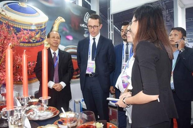 Minh Long, orgullo del arte ceramico de Vietnam, presente en Semana de alto nivel del APEC hinh anh 17