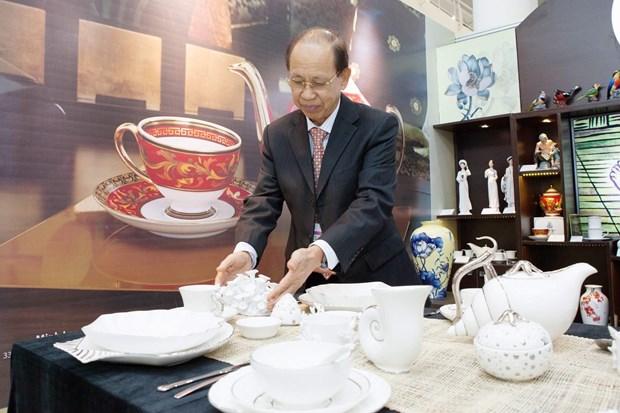Minh Long, orgullo del arte ceramico de Vietnam, presente en Semana de alto nivel del APEC hinh anh 8