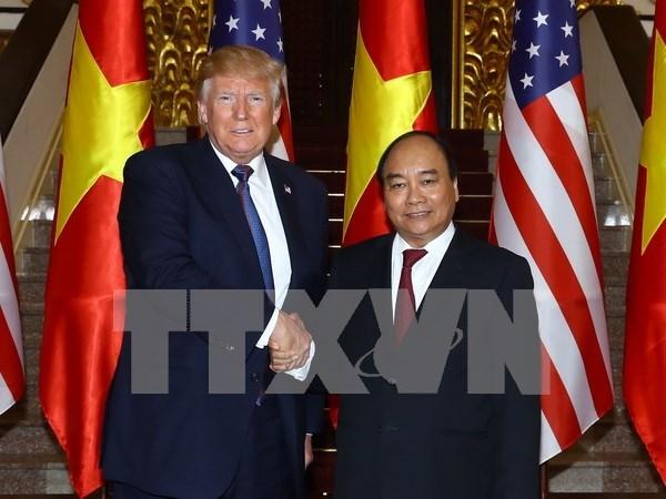 Vietnam y Estados Unidos ponen enfasis en impulsar cooperacion economica hinh anh 1