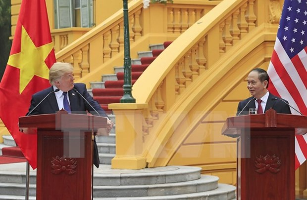 Vietnam y EE.UU. acuerdan profundizar su asociacion integral hinh anh 1