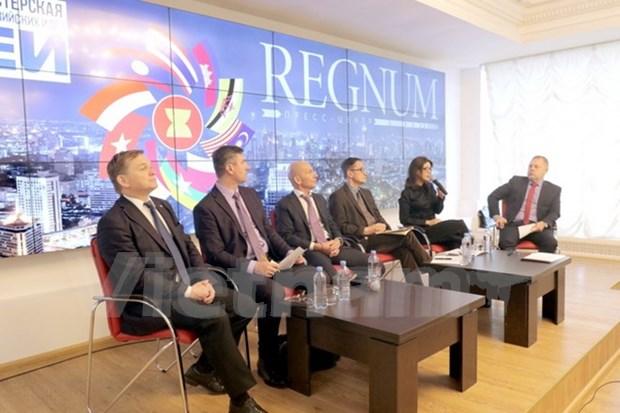 Buscan mejorar cooperacion entre Rusia y ASEAN en nuevo contexto geopolitico hinh anh 1