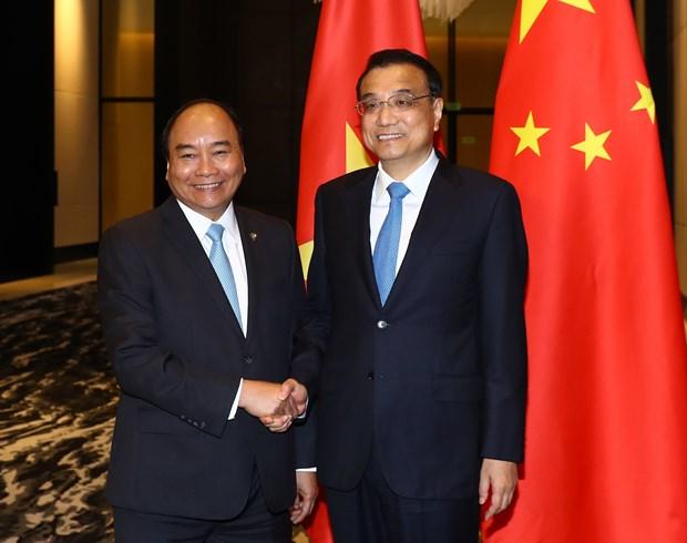 Vietnam y China por impulsar cooperacion multifacetica bilateral hinh anh 1