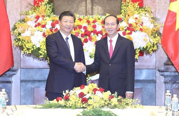 Vietnam y China trazan orientaciones para impulsar relaciones bilaterales hinh anh 1