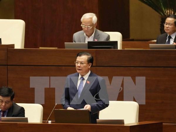 Ministros vietnamitas compareceran ante el Parlamento hinh anh 1