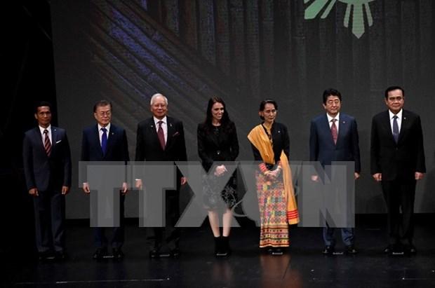 Sudcorea se compromete a fortalecer cooperacion con ASEAN hinh anh 1