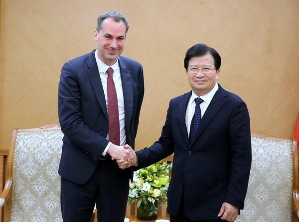 Cooperacion economica es el pilar de la relacion Vietnam-Alemania hinh anh 1