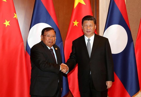 Laos y China construiran comunidad de futuro compartido hinh anh 1