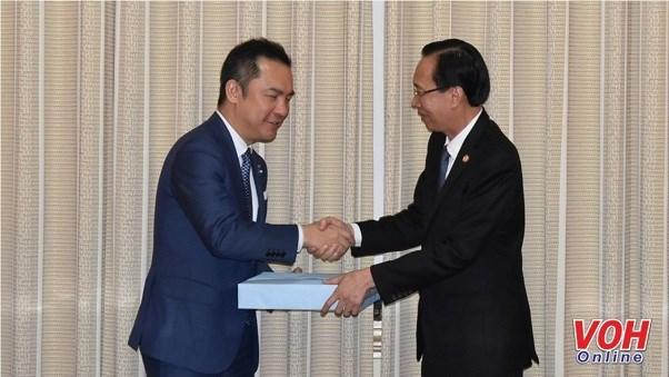 Ciudad Ho Chi Minh exhorta a mas inversion de localidad japonesa hinh anh 1