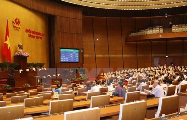 Asamblea Nacional de Vietnam revisa proyectos de ley y resolucion hinh anh 1