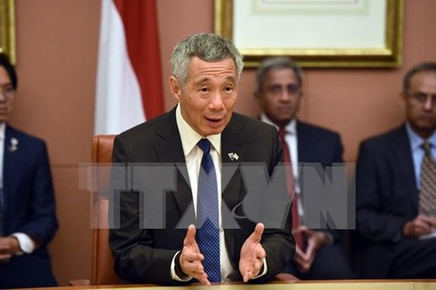 Premier singapurense destaca factores para mantener la prosperidad de ASEAN hinh anh 1
