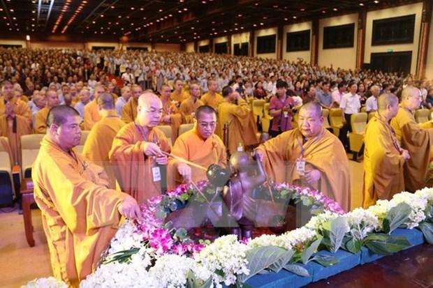 Celebraran en Hanoi Congreso del budismo de Vietnam hinh anh 1