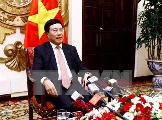 Destacan resultados de la Semana de alto nivel del APEC en Vietnam hinh anh 1
