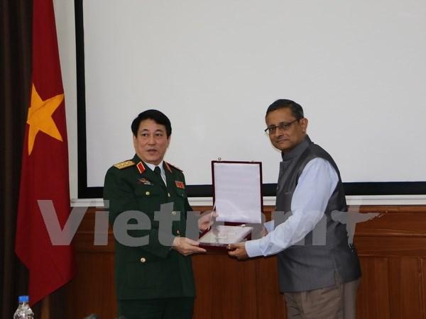 Vietnam e India promueven cooperacion en defensa hinh anh 1