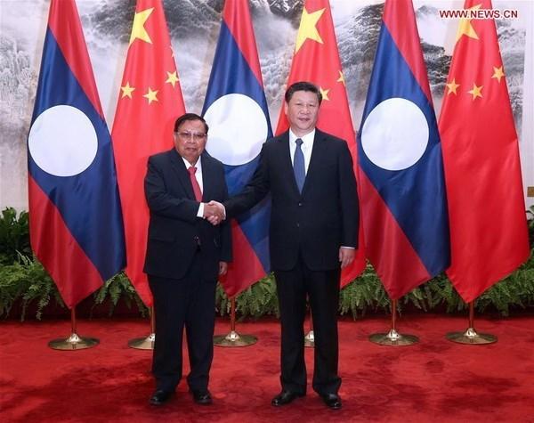 Laos y China buscan profundizar vinculos multisectoriales hinh anh 1