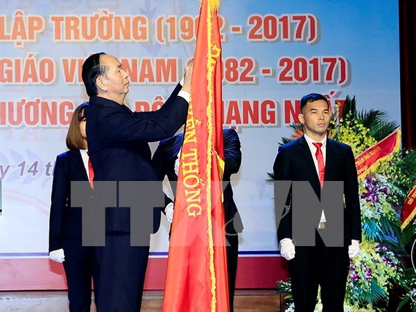 Presidente urge a Universidad de Medicina de Hanoi a intensificar cooperacion internacional hinh anh 1
