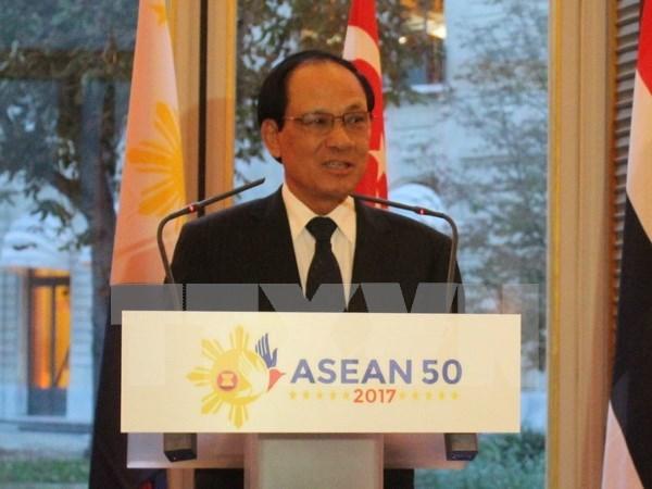 Secretario general de ASEAN subraya necesidad de Codigo de Conducta del Mar del Este hinh anh 1