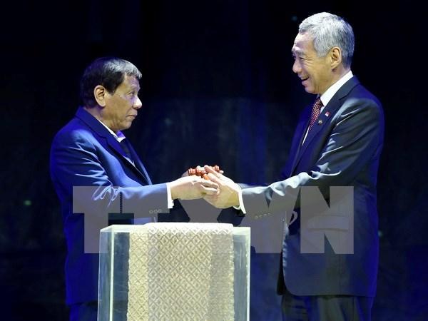 Singapur traza tres prioridades para desarrollo de la ASEAN en 2018 hinh anh 1