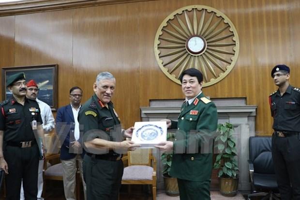Vietnam y la India impulsan cooperacion en defensa hinh anh 1