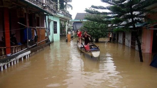 ASEAN respalda a pobladores vietnamitas afectados por tifon Damrey hinh anh 1