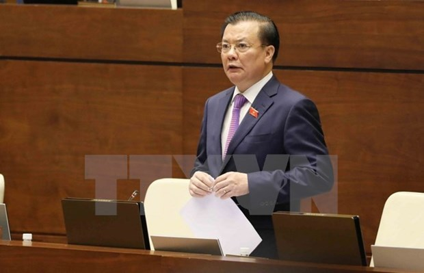 Ministros vietnamitas rinden cuenta ante Asamblea Nacional hinh anh 1