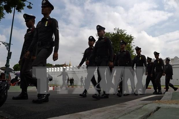 Policia tailandesa desmiente rumores sobre manifestaciones para derrocar al gobierno hinh anh 1
