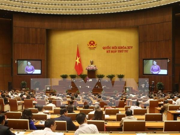 Parlamento vietnamita comienza sesiones de interpelacion a miembros del gabinete hinh anh 1