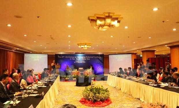 Realizan en Indonesia seminario sobre gestion de potenciales conflictos en Mar del Este hinh anh 1