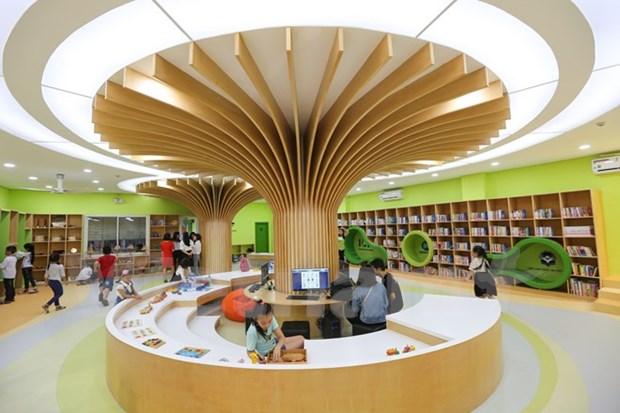 Inauguran primer complejo de biblioteca infantil en Vietnam hinh anh 1