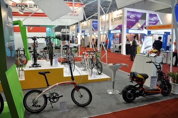Inauguran en Hanoi Exposicion Internacional de bicicletas hinh anh 1