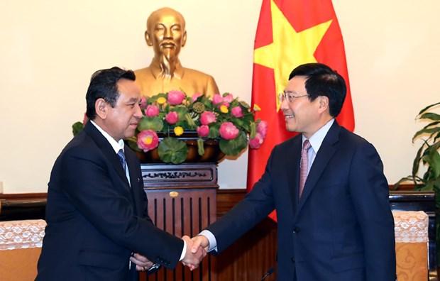 Vicepremier de Vietnam destaca relaciones de amistad con Mongolia hinh anh 1