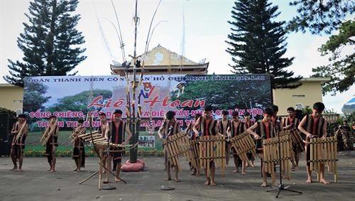 Festival honra valores de cultura gong en Tay Nguyen hinh anh 1