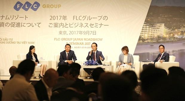 Grupo inmobiliario vietnamita FLC realizara un roadshow en Sudcorea hinh anh 1