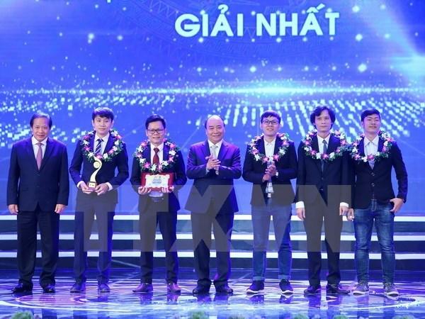 """Premio """"Talentos de Vietnam"""" respalda al pais en medio de cuarta revolucion industrial hinh anh 1"""