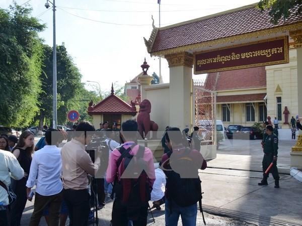 Camboya: Tribunal Supremo ordena disolucion del CNRP hinh anh 1
