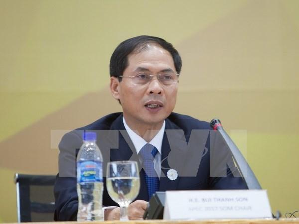Vietnam informa resultados de Semana de Cumbre del APEC a organizaciones internacionales hinh anh 1
